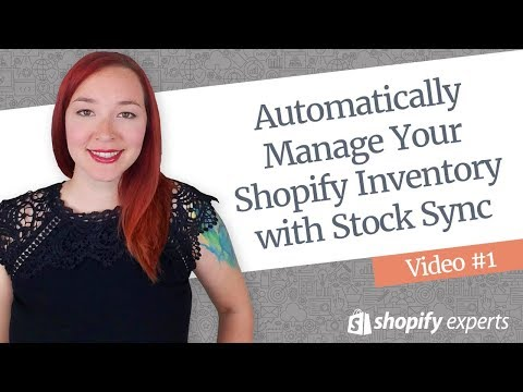 Automatically Manage Your Shopify Inventory with Stock Sync - Video #1 thumbnail
