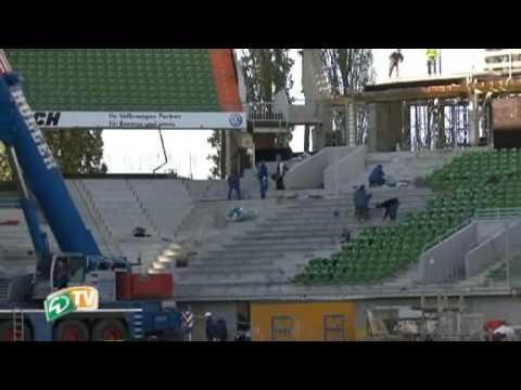 Baustelle Weser-Stadion: Ein innovativer Umbau