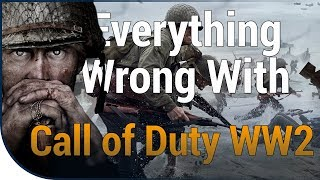 GAME SINS | Everything Wrong With Call of Duty: WWII