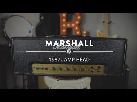 Marshall 1987x Amp Head | Reverb Demo Video