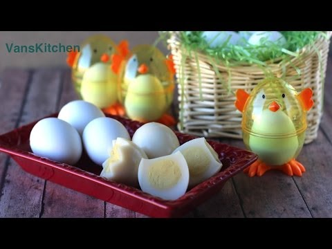 Easter egg jelly (Thach rau cau trung ga)