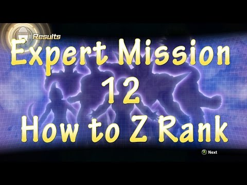 Dragon Ball Xenoverse 2 Expert Mission 12 How to Z Rank