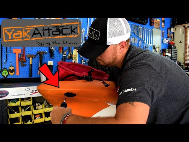 Kayak anchor trolley install / Yakattack HD / DIY / Tips & Tricks