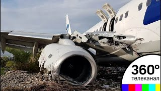 Инцидент в Сочи: у самолета могли отказать тормоза