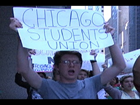 Chicago Students Union Demand Elected School Board & Fair Funding
