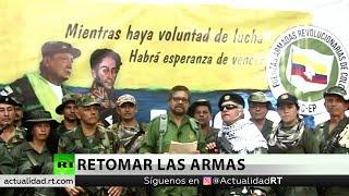 Exlíderes disidentes de las FARC anuncian que parte de las guerrillas retoma las armas