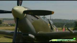 Spitfire Tribute with Red Bull Air Race pilots