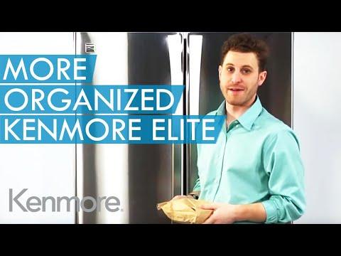 Moreorganized Kenmore Elite 31 Cu Ft French Door Youtube