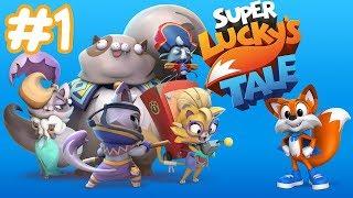 #1 Super Lucky`s Tale |  Прохождение на русском игра для детей|  ПапаСын