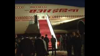 PM arrives at Dushanbe Intl. Airport, Tajikistan | PMO