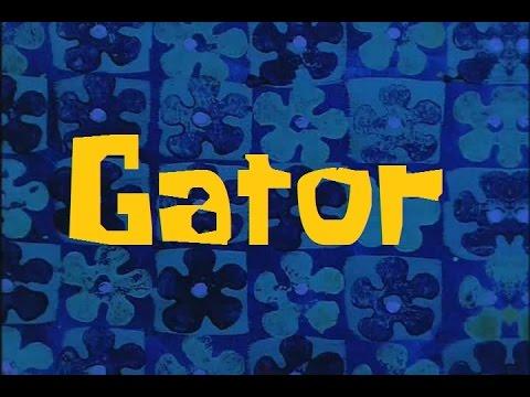 SpongeBob Production Music Gator