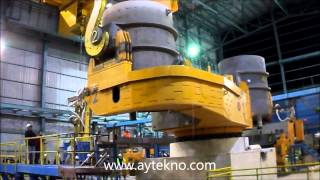 EAF LF CCM döküm alıyor Aytekno Mühendislik  F&F Steel ( Polteks Doğa )