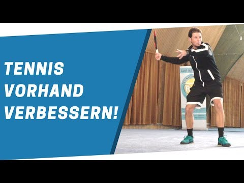 Tennis Vorhand verbessern - In 3 Schritten zur einer besseren Vorhand