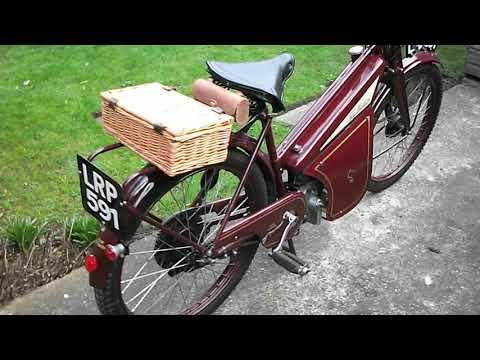 1955 New Hudson Autocycle