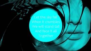 Skyfall - Adele (Karaoke/Instrumental) Video