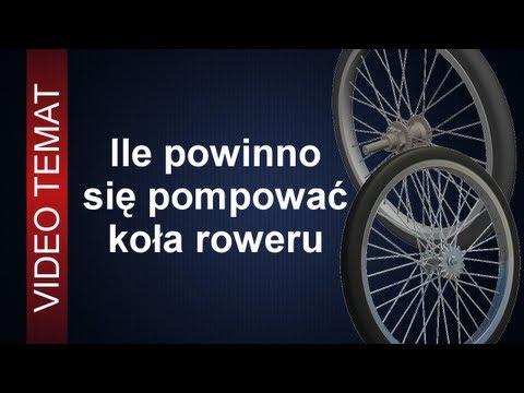 Ile pompować koła roweru - Jakie ciśnienie w kołach jest najlepsze