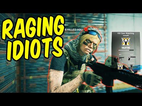 RAGING IDIOTS - Rainbow Six Siege Funny Moments