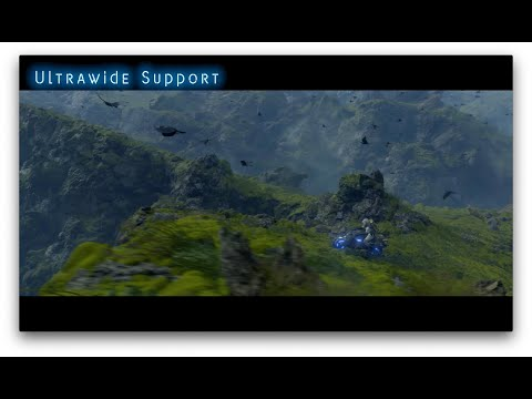 DEATH STRANDING - PC Ultrawide Support Showcase 1 - ESRB