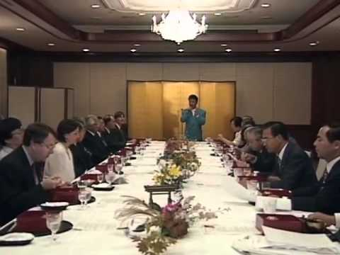 Highlights from UNSG Boutros Boutros-Ghali's visit to Japan and press conference (1994)