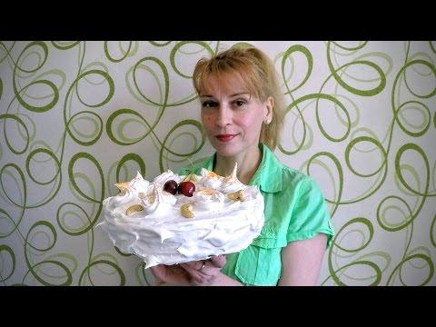 Торт Нежный. Как украсить торт своими руками. Оформление тортов.  Украшение тортов кремом