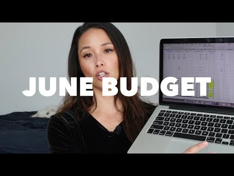 June 2018 Budget | Loss of Income, Moving Expenses | Aja Dang
