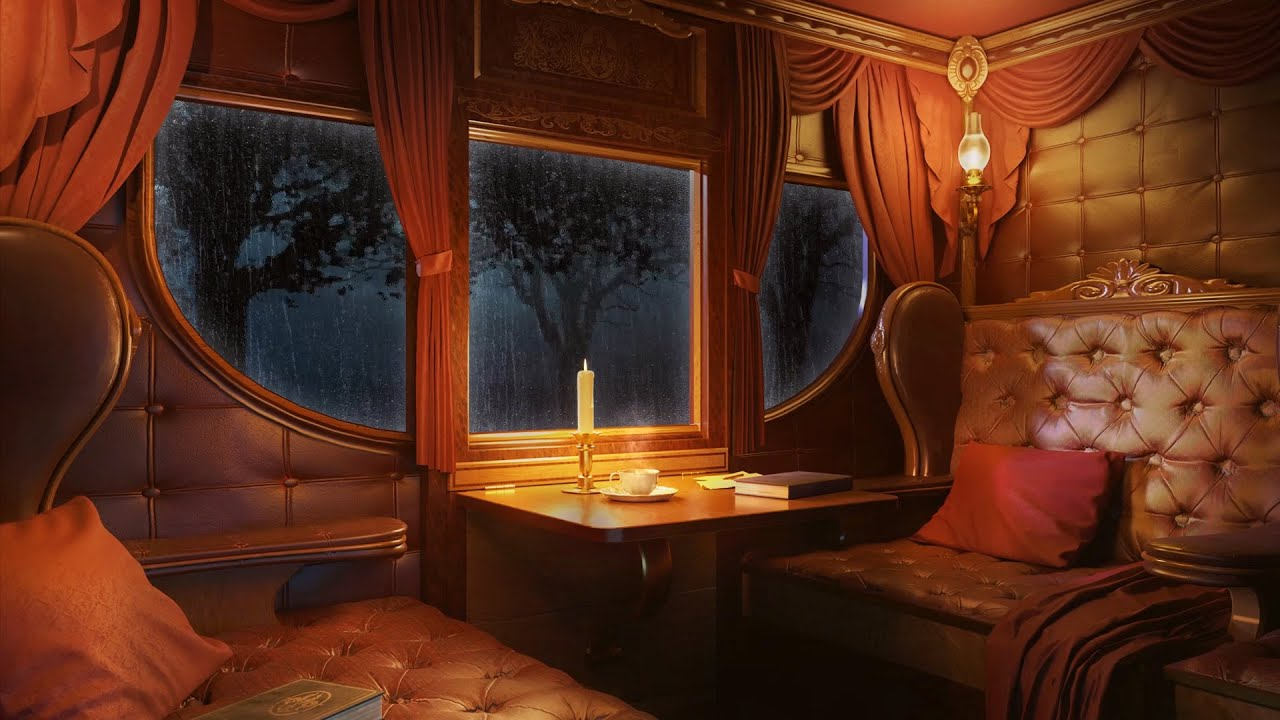 Carriage Ambience - Carriage Ride Through the Forest During Rainstorm