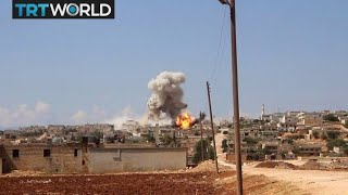 The War in Syria: Makeshift shelters as Idlib offensive looms