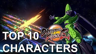 Top 10 Strongest Characters in Dragon Ball FighterZ!