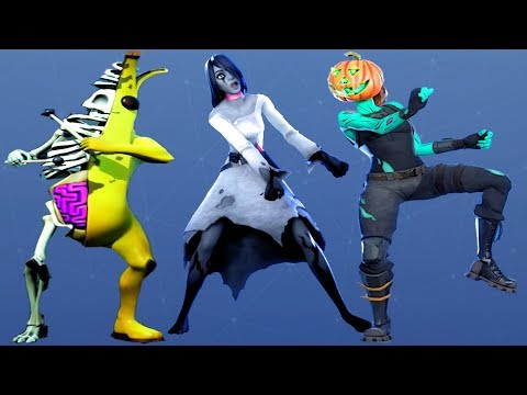Fortnite All Dances Season 1-11 Updated To Fright Funk