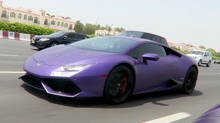 PURPLE LAMBORGHINI !!!