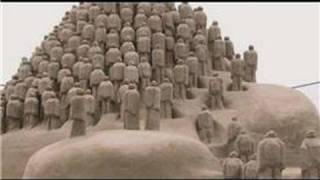 Types of Sculpture : What Is a Sand Sculpture?