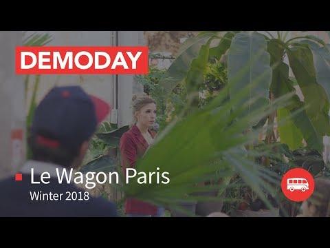 Coding Bootcamp Paris | Le Wagon Demo Day - Batch #120