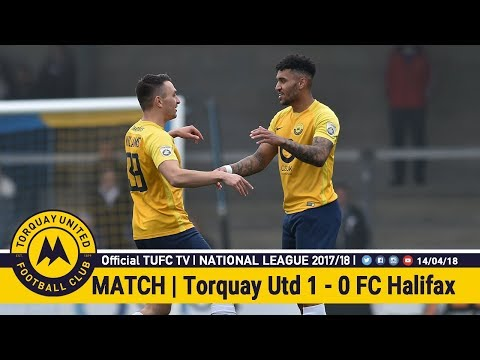 Official TUFC TV | Torquay United 1 - 0 FC Halifax Town 14/04/18
