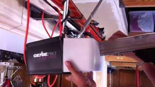 how to program a genie garage door remote control opener in 60 seconds