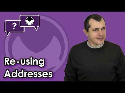 Bitcoin Q&A: Re-using Addresses