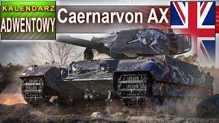 Caernarvon AX - warto czy nie? DZIEŃ 20 - World of Tanks