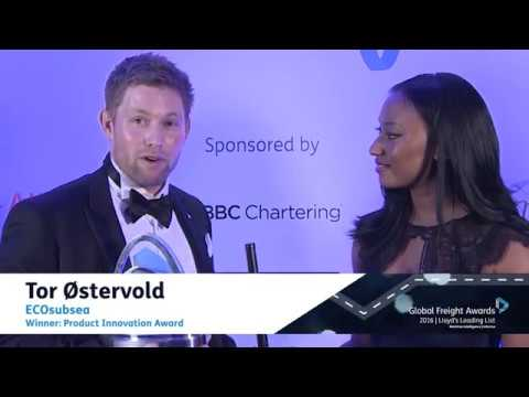 Global Freight Awards: Tor Østervold winner interview