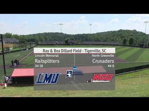 North Greenville Vs. Lincoln Memorial - NCAA Division II Southeast Regional Bracket #1 - Game 4