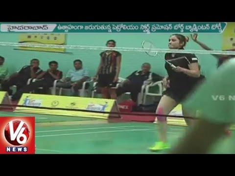 PSPB Badminton Tourney At Pullela Gopichand Badminton Academy | Hyderabad | V6 News