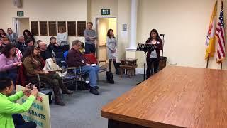 Speaker addresses deputy mayor's Facebook post