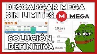 Descarga con mega sin limites ni programas nuevo metodo 2017