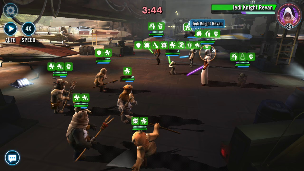 Ewoks Vs Revan Lead