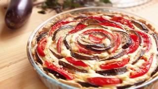 Творожный киш с овощами пирог с овощами Простые рецепты