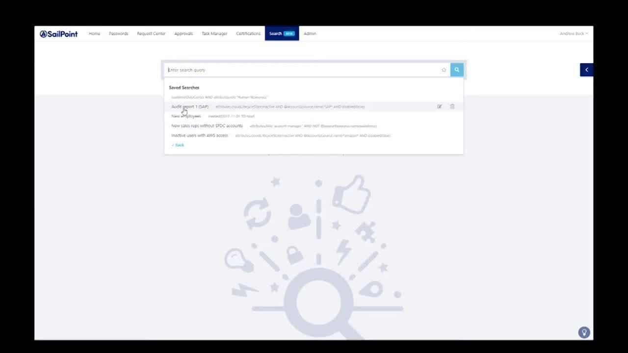 IdentityNow: Informes