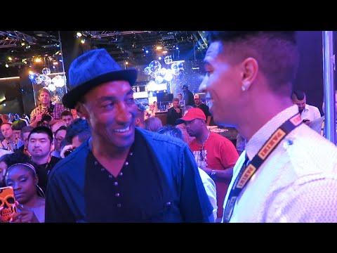 CHILLIN WITH NBA LEGENDS! ft. Scottie Pippen, Allen Iverson, Shawn Kemp