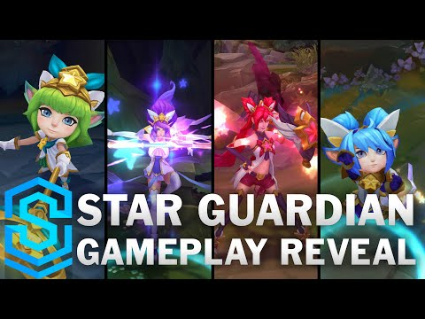 Star Guardian Jinx, Poppy, Lulu, Janna | Gameplay Reveal