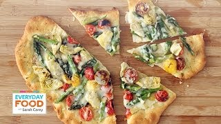 Rustic Springtime Vegetable Pizza - Everyday Food With Sarah Carey