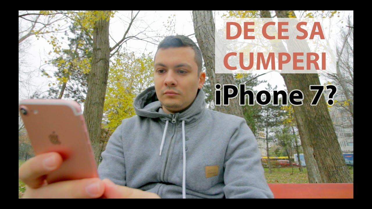 De ce sa cumperi iPhone 7? Review limba romana - iSTYLE