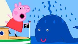 Peppa Pig Português Brasil   O capitão papai ⭐️ Família de Peppa ⭐️ HD   Desenhos Animados