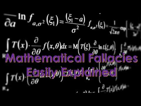 Mathematics Fallacies easily explained with error detection